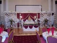New Wedding Fiber Carved Stage