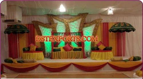 Asian Mehandi Stage Setup