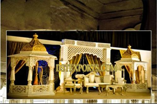Wedding Jodha Akbar Stage Set