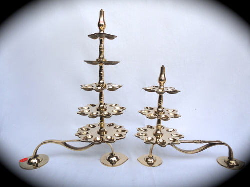 Brass Step Diya