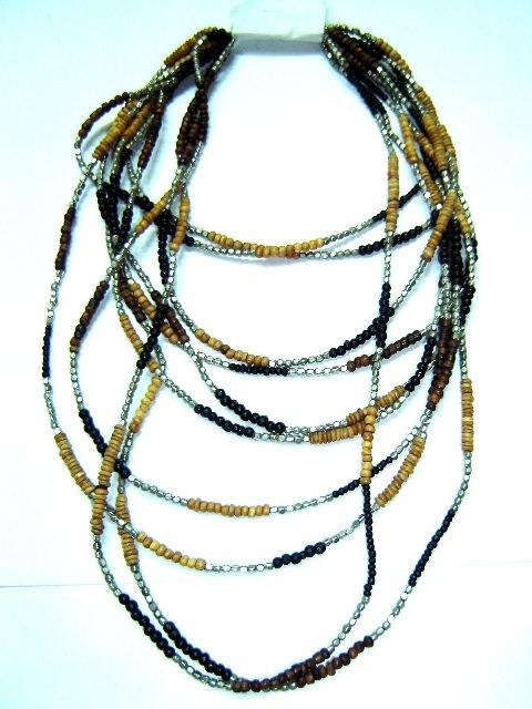 Fancy Bezel Necklace