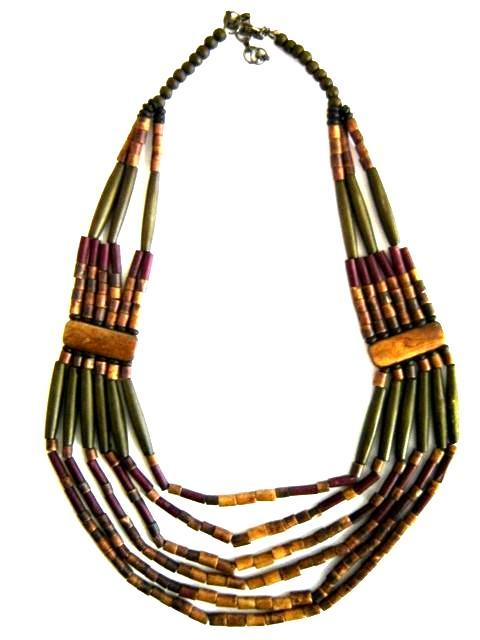 Wooden Fashion Necklace