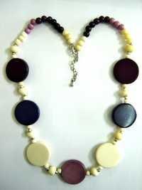 Carved Imitation Necklace