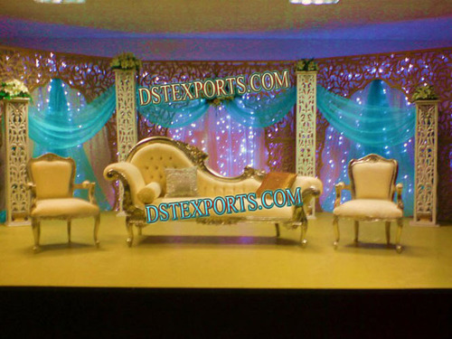 Asian Wedding Stage With Italian Furniture