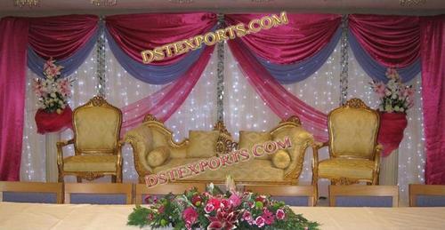 Nigerian Wedding Stage Decors