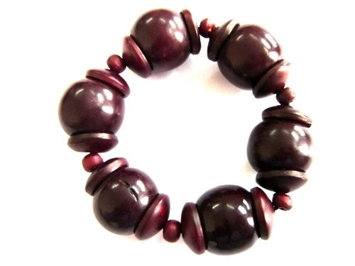 Resin Bead Bracelet