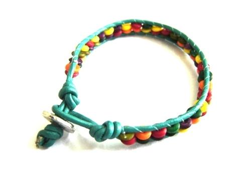 String Bead Bracelet