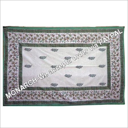 BLOCK Printed Single Bed Sheet