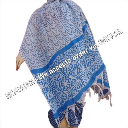 Designer Printed 100% COTTON STOLES