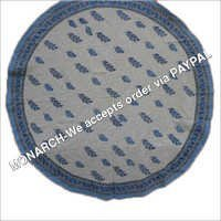 HANDMADE MUGHAL Round Table cloth