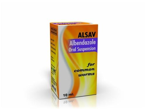 Albendazole Oral Suspension for Common Worms
