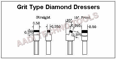 Grit Type Diamond Dressers