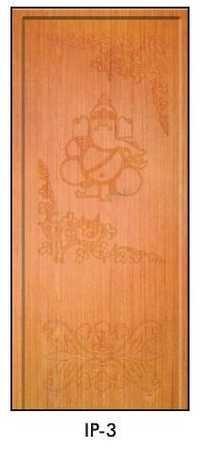 Teak Pooja Doors (IP-3)