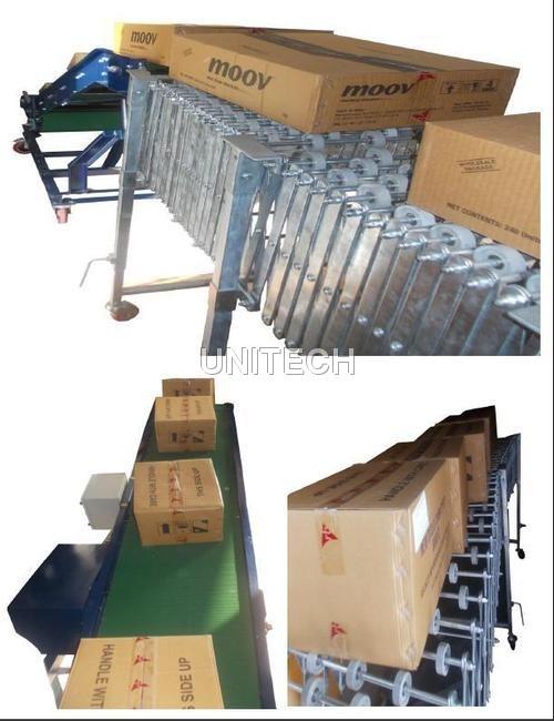 Truck Loading & Unloading Conveyor