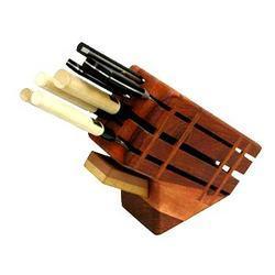 Wood Knife Holder
