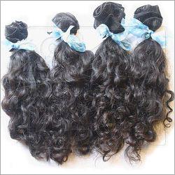 Virgin Curly Weft Hair