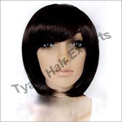 Short Human Hair Wig