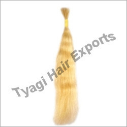Silky White Human Hair