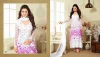 Beautiful White Anarkali Suit