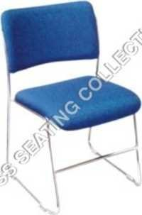 Blue Fabric Visitor Chair