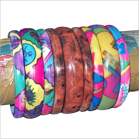 Designer Plastic Bangles