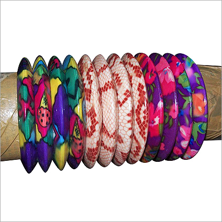 Colorful Plastic Bangles