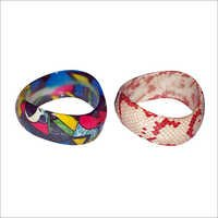 Wave Shaped Bangles