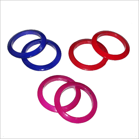 Colored Wooden Bangles