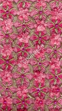 Embroidered Chenille Work