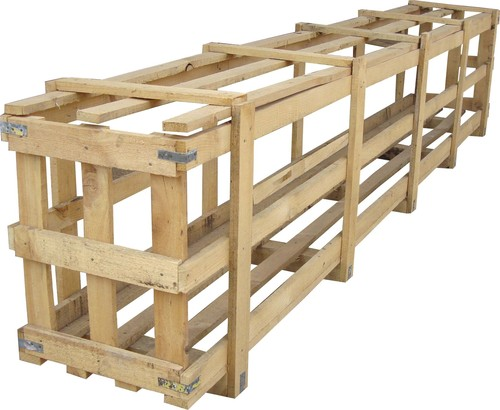 Long Wooden Crate