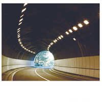 Tunnel induction lamp