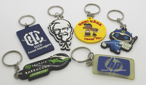 PVC Key Key Chains