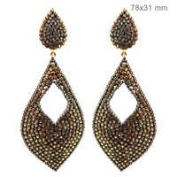 Gold Diamond Earrings Jewelry