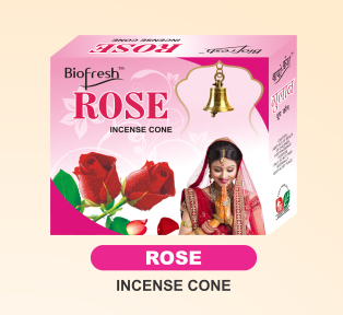 Rose Incense Cone
