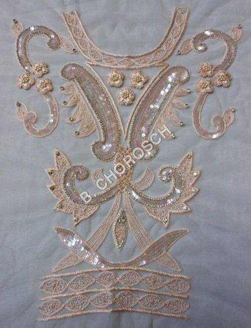 Beaded Embroidery Bridal Laces Fabrics