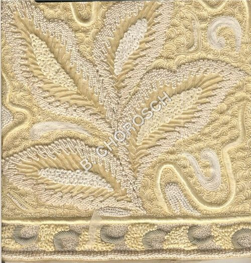 Embroidered Cord Hand Work
