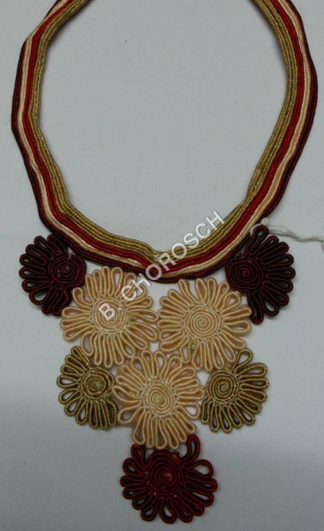 Designer Embroidered Cord Work