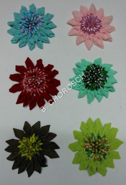 Designer Embroidered Motifs