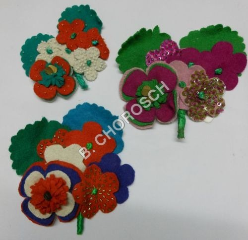 Fashionable Embroidered Motifs