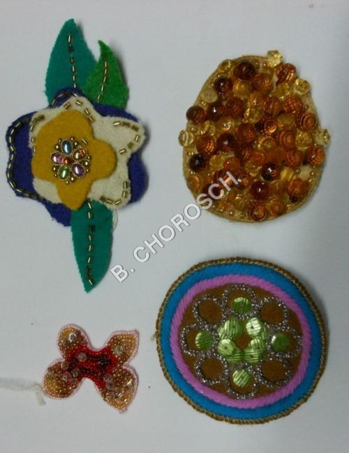 Custom Embroidered Motifs
