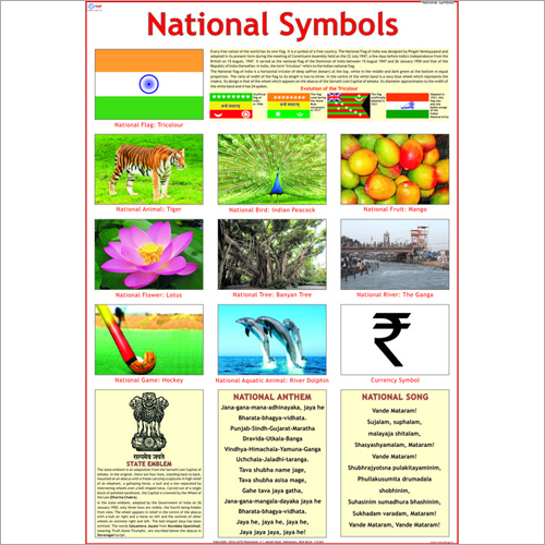 National Symbols Chart