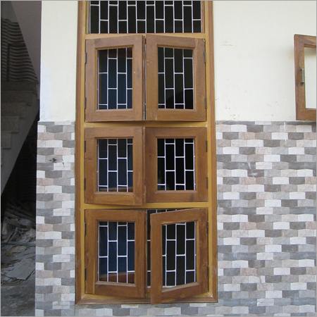 Wooden Designer Window Frames