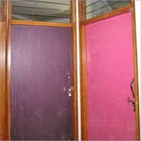 Colored Wooden Doors