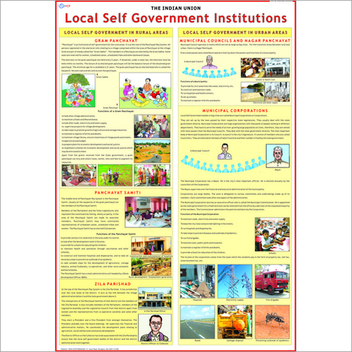 Local Self Government Institutions, Municipalities Chart