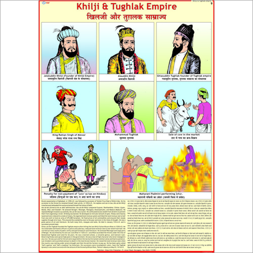 Slave Kings, Khiljis & Tughlaqs Civilization Chart