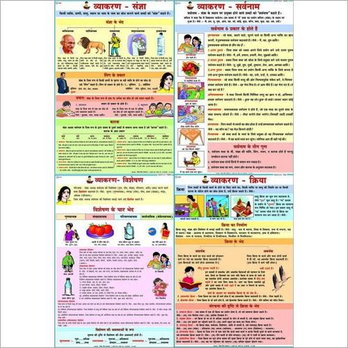 Hindi Vyakran Chart