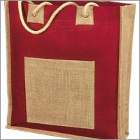 100% Jute Bag withRope Handle