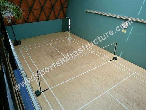 Badminton Court Maple Wooden Flooring