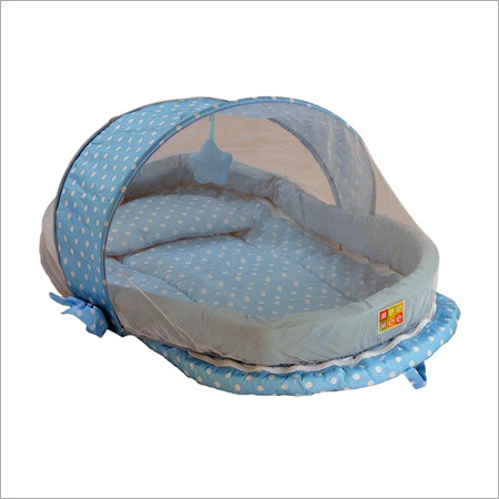 Baby Mattress Set With Mosquito Net (Mm-33093)