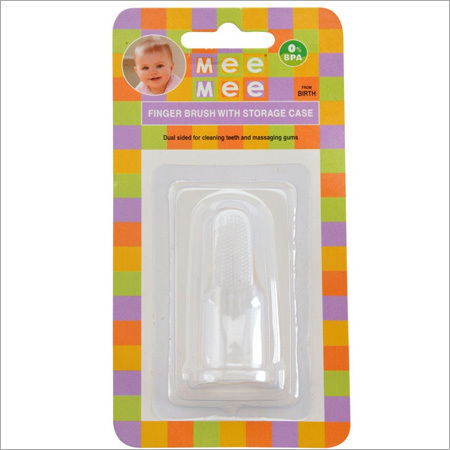 Finger Toothbrush With Storage Case(Mm 3874)
